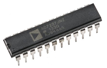 Analog Devices AD7237JNZ, 2-Channel Parallel DAC, 24-Pin PDIP