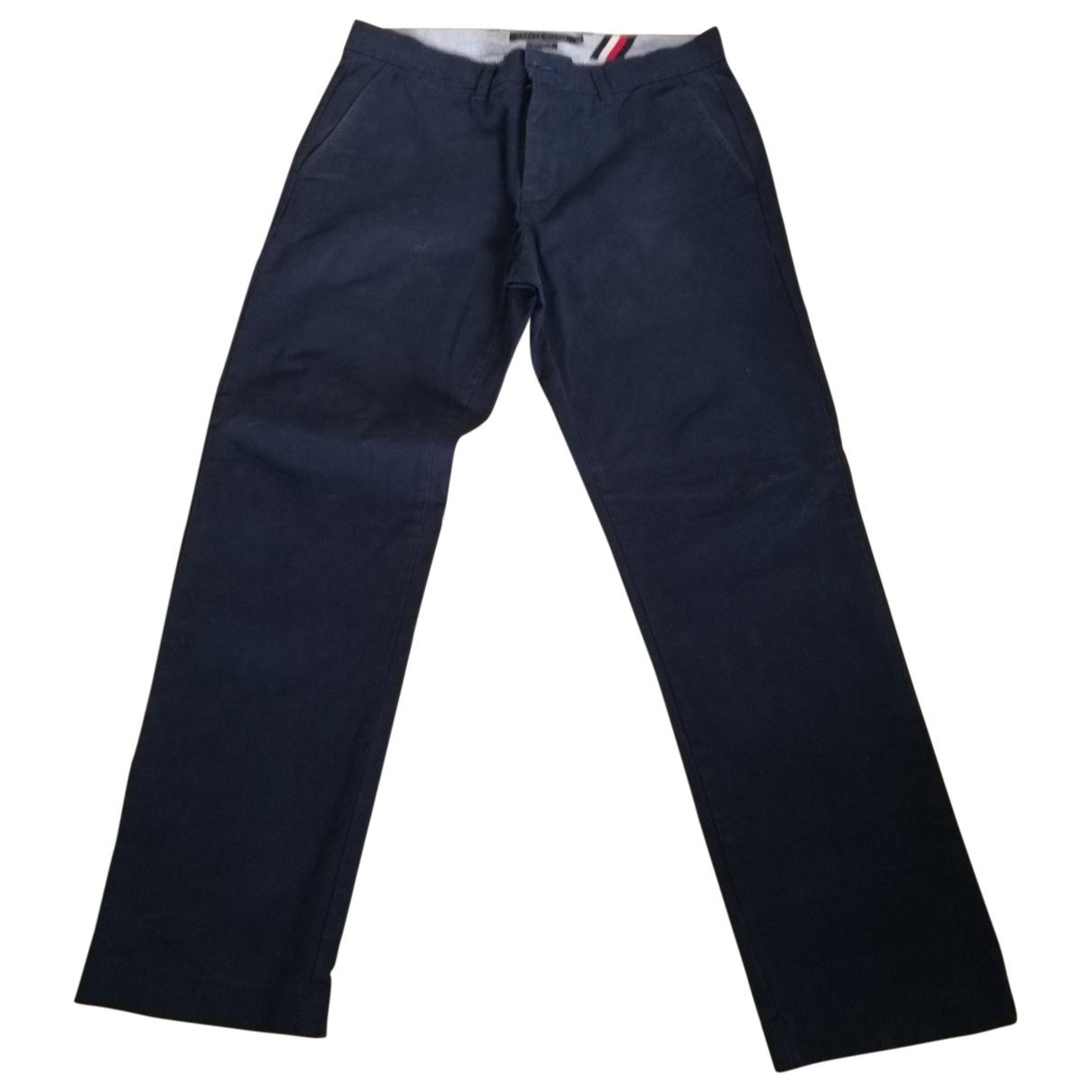 Tommy Hilfiger - Pantalon   pour homme en coton - bleu