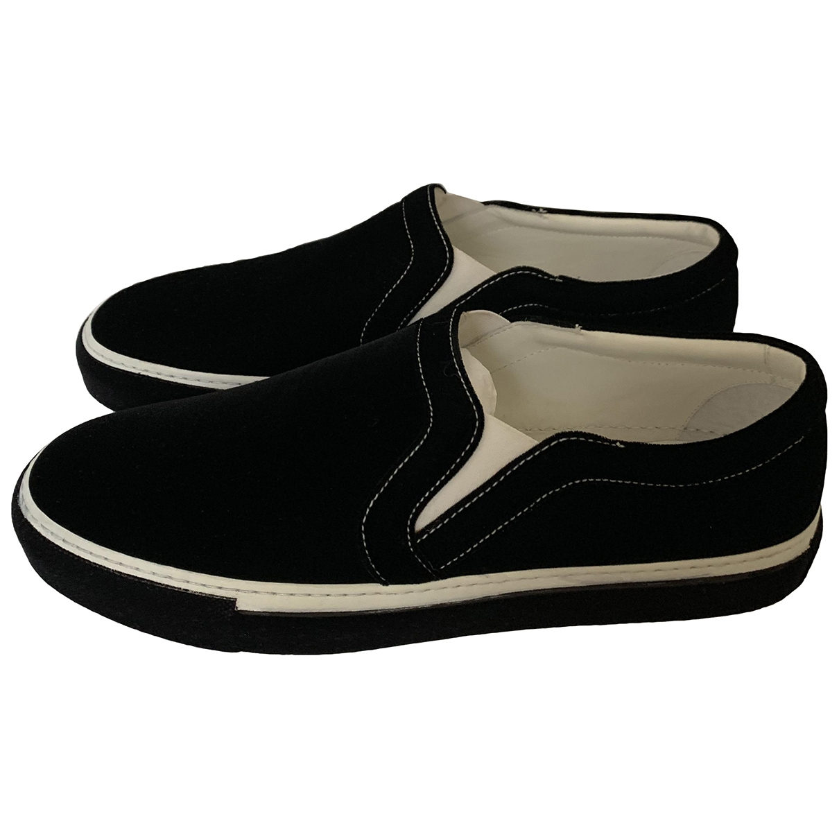 Givenchy \N Black Cloth Trainers for Men 44 EU