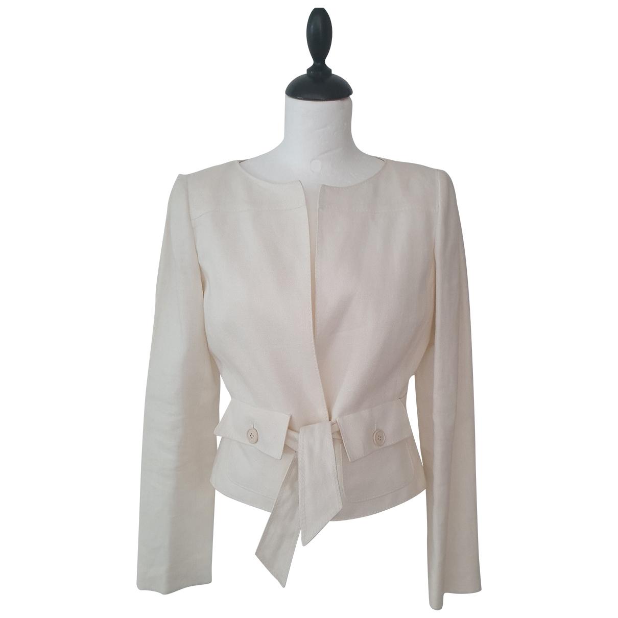 Valentino Garavani \N Linen jacket for Women 8 UK