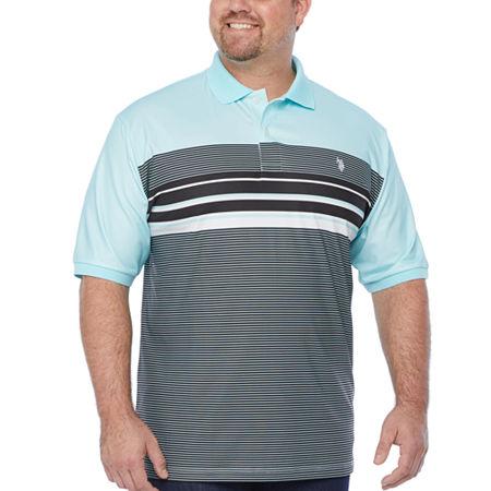 Us Polo Assn. Mens Short Sleeve Polo Shirt, 3x-large , Green
