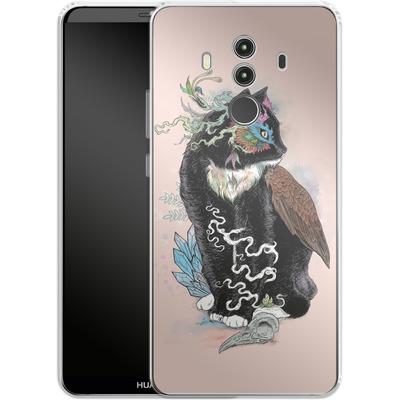 Huawei Mate 10 Pro Silikon Handyhuelle - Black Magic von Mat Miller