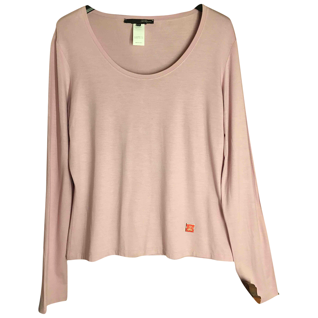 Non Signé / Unsigned N Pink  top for Women 3 0-5