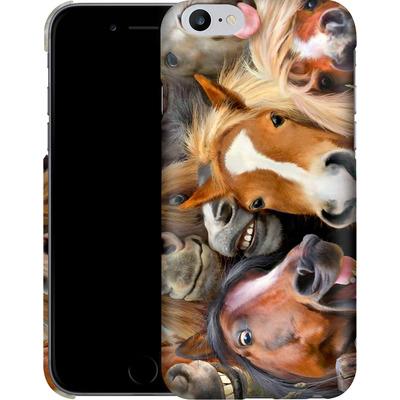Apple iPhone 6s Plus Smartphone Huelle - Horse Selfie von Howard Robinson