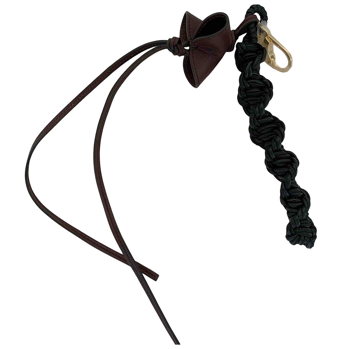 Celine \N Brown Leather Bag charms for Women \N