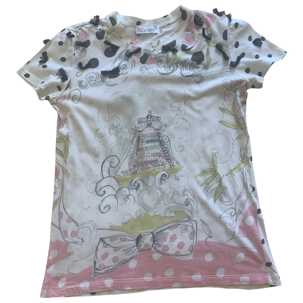 Red Valentino Garavani \N White Cotton  top for Women S International