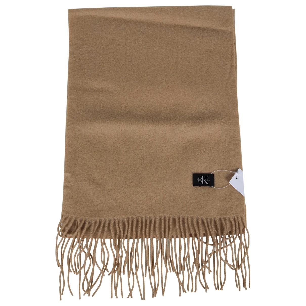 Calvin Klein Collection \N Beige Cashmere scarf for Women \N