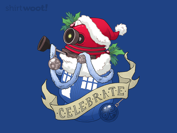 Dalek Stocking Stuffer T Shirt