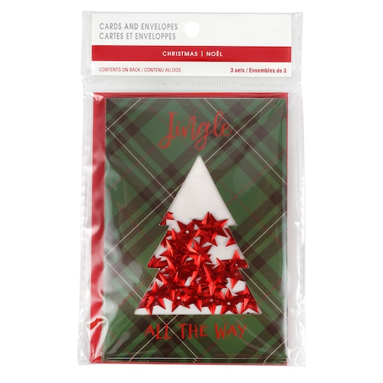 Jingle All The Way Shaker Cards By Craft Smart™   Michaels®