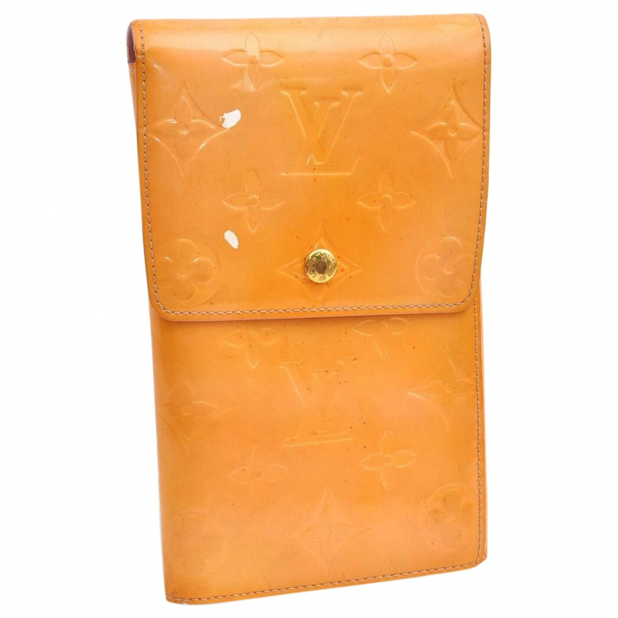 Louis Vuitton \N Yellow Patent leather wallet for Women \N