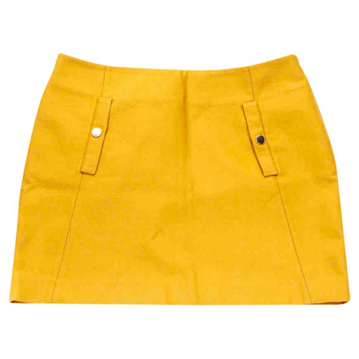 Essentiel Antwerp \N Rocke in  Gelb Wolle