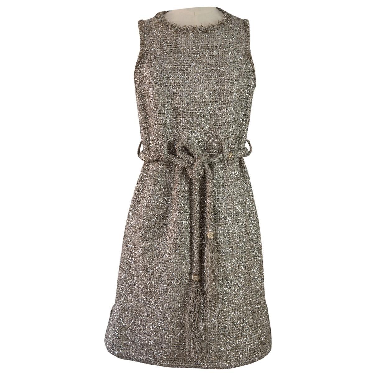 Mini vestido Tweed Chanel