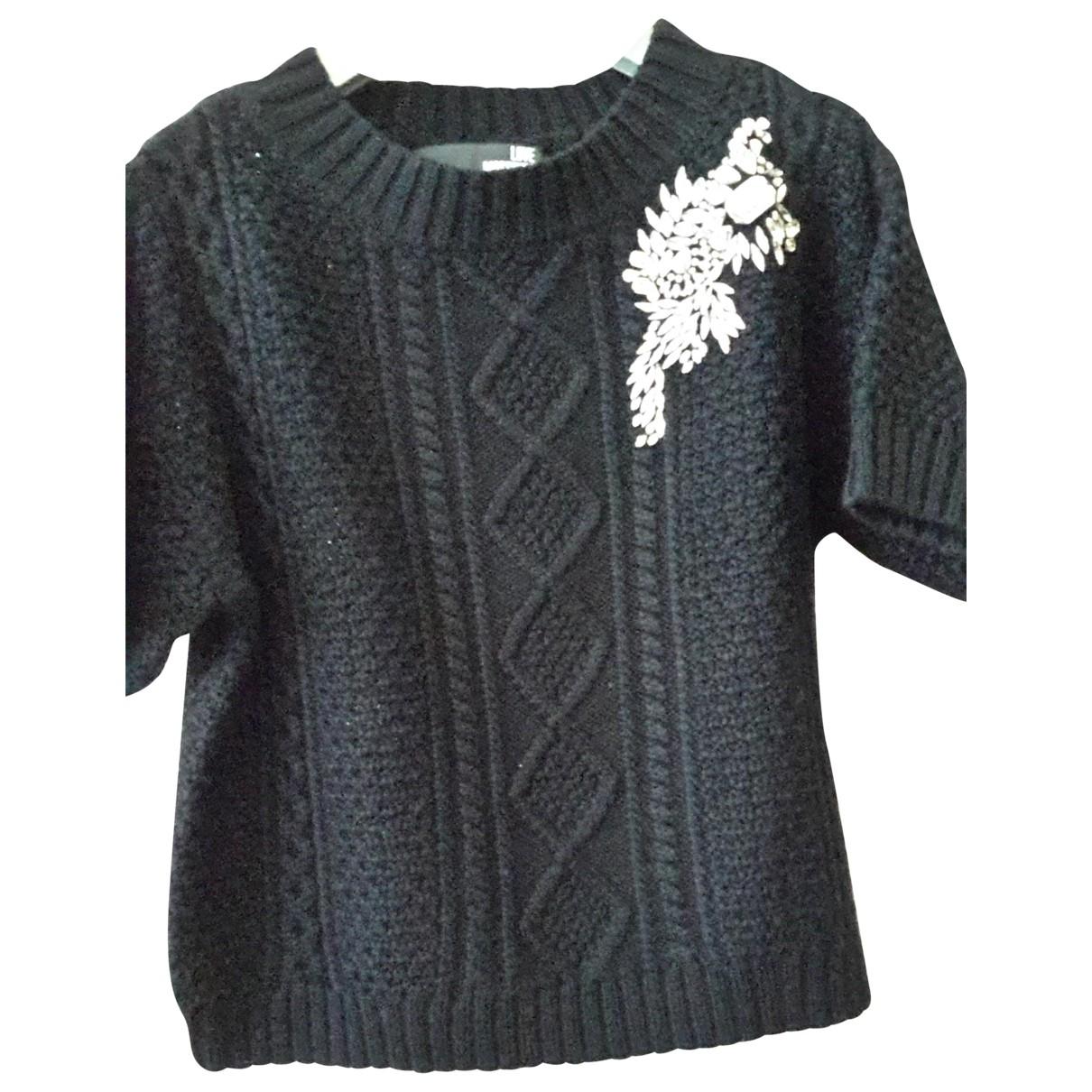 Moschino Love - Pull   pour femme en laine - noir