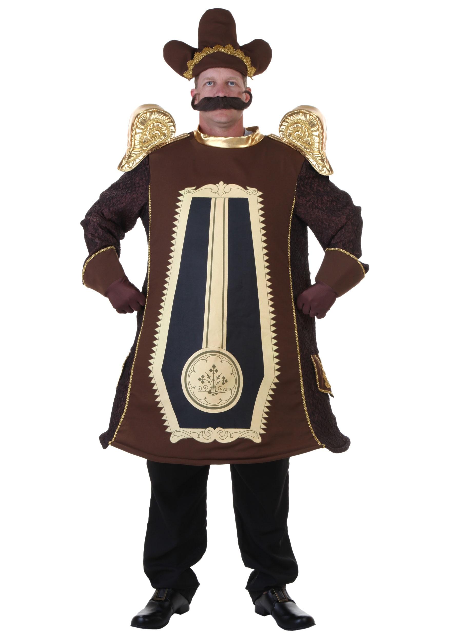 Clock Adult Costume