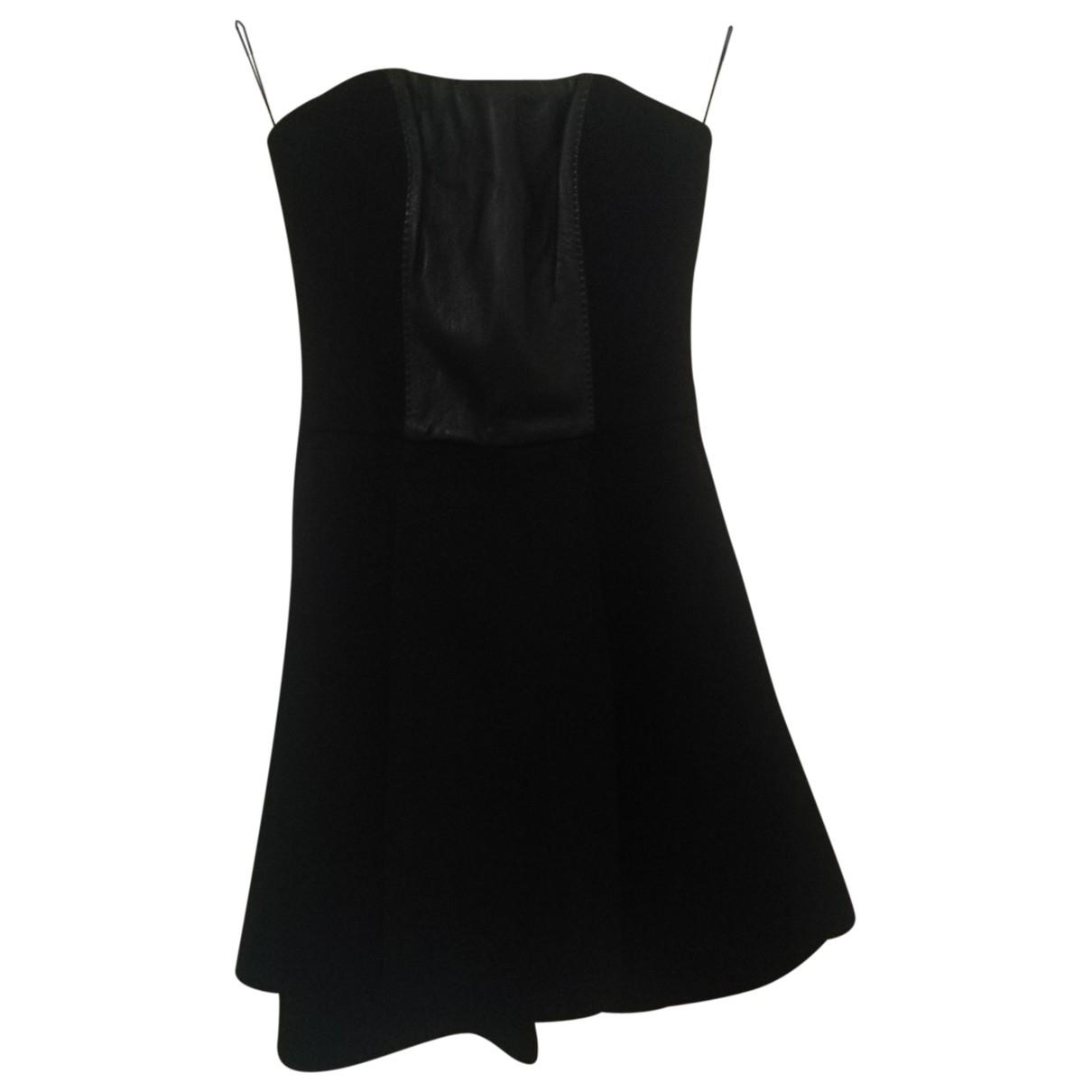 Pinko \N Kleid in  Schwarz Leder