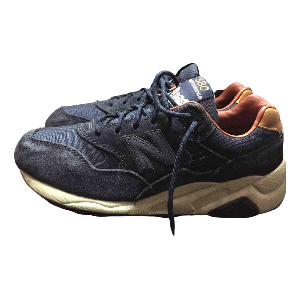 New Balance - Baskets   pour homme en suede - bleu