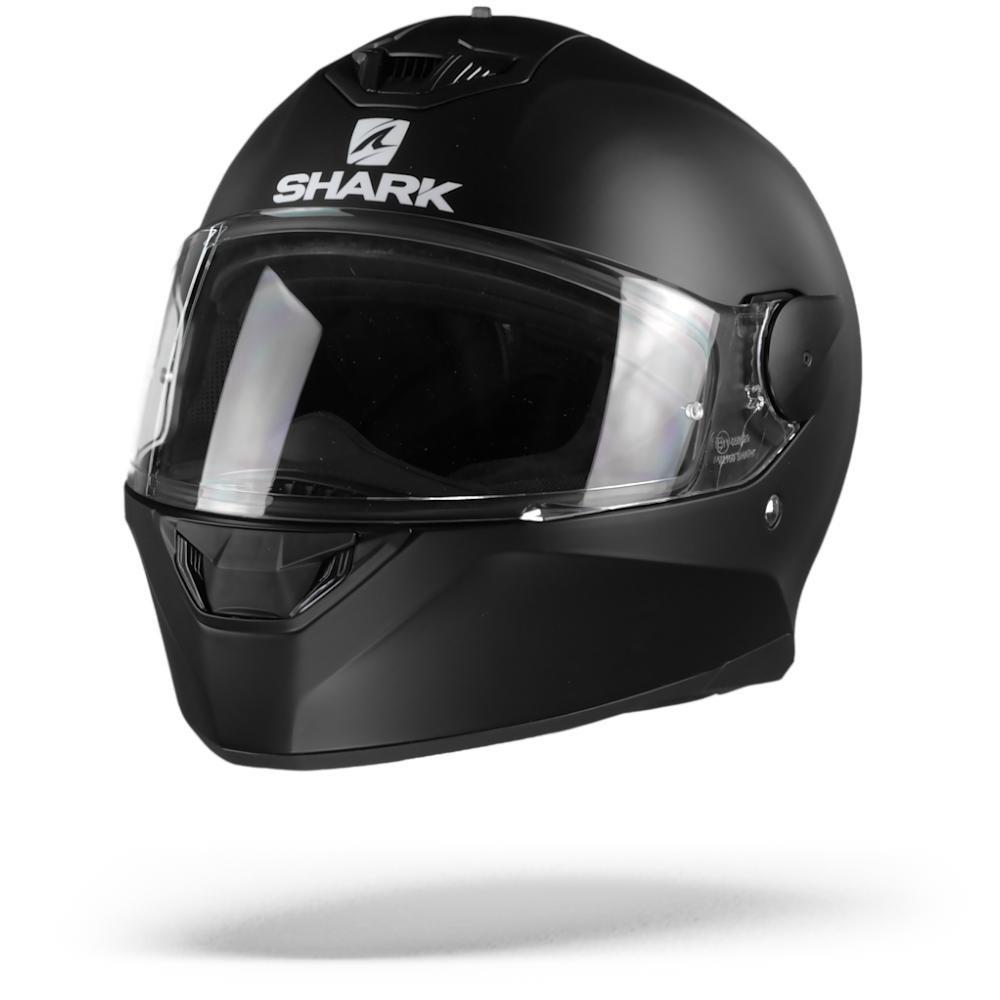 Shark D-Skwal 2 Blank Casco Integral (Full Face) Negro Matte KMA M