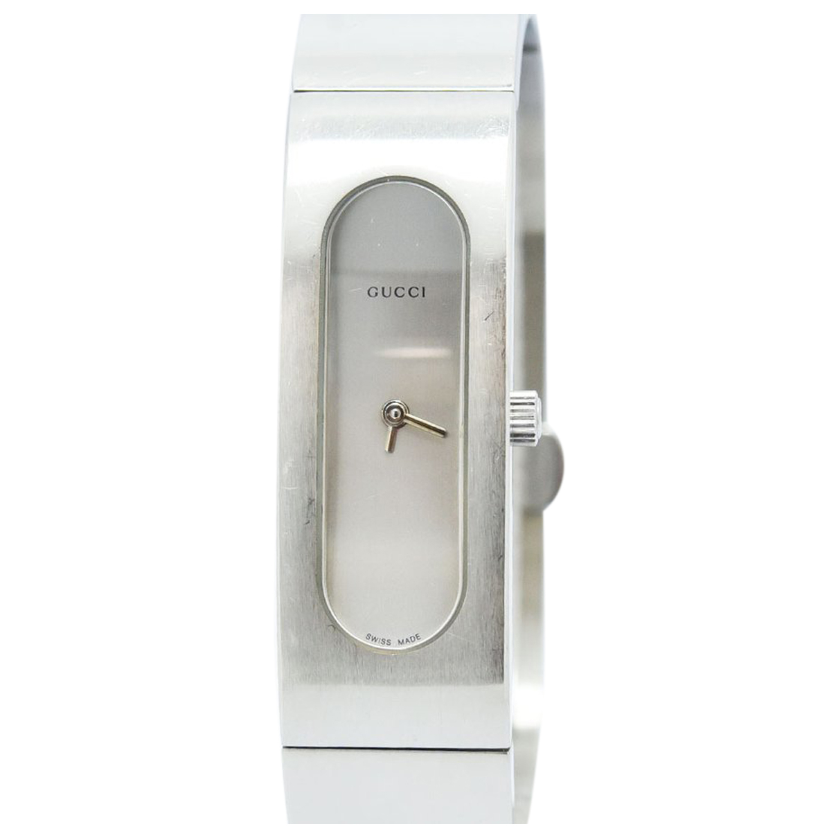 Gucci N Silver Steel watch for Women N