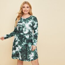 Kleid mit Batik