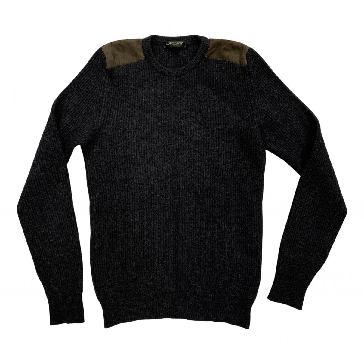Golden Goose \N Pullover.Westen.Sweatshirts  in  Grau Wolle