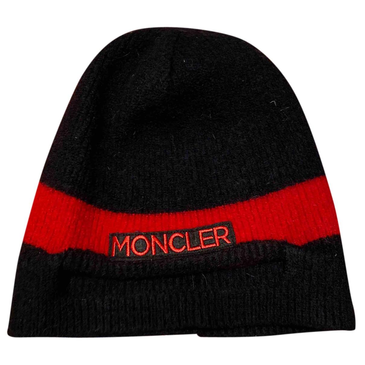 Moncler - Chapeaux.Bonnets.Gants   pour enfant en laine - noir