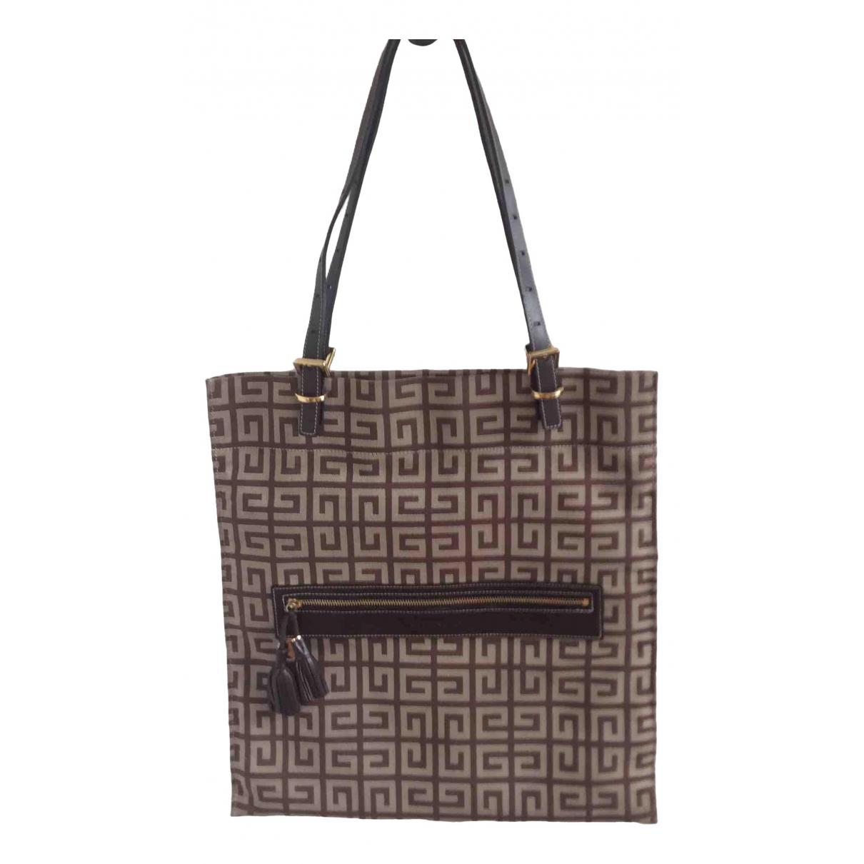 Givenchy \N Brown Cloth handbag for Women \N