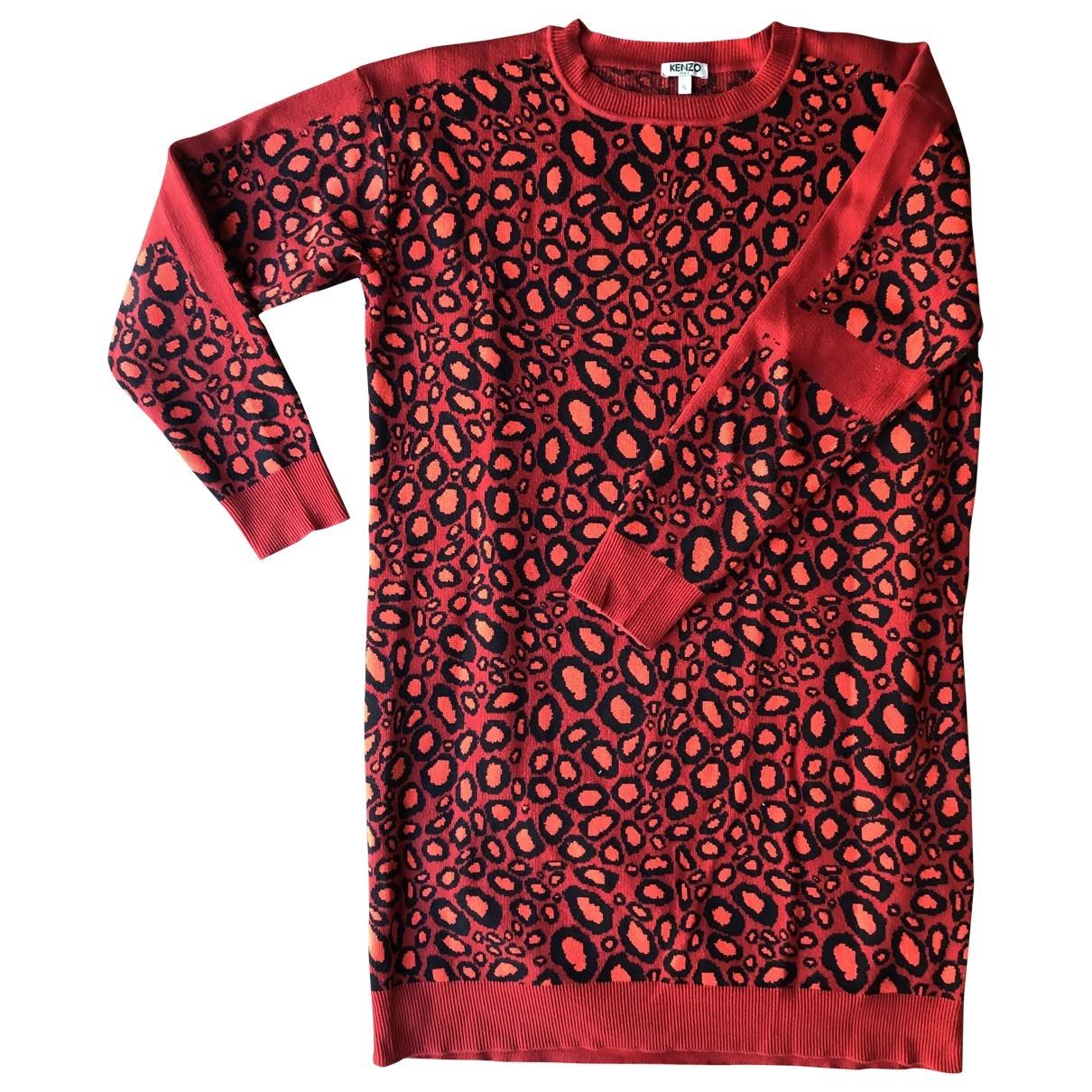 Kenzo \N Red Cotton dress for Women S International