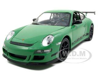 Porsche 911 (997) GT3 RS Green 1/24-1/27 Diecast Model Car by Welly