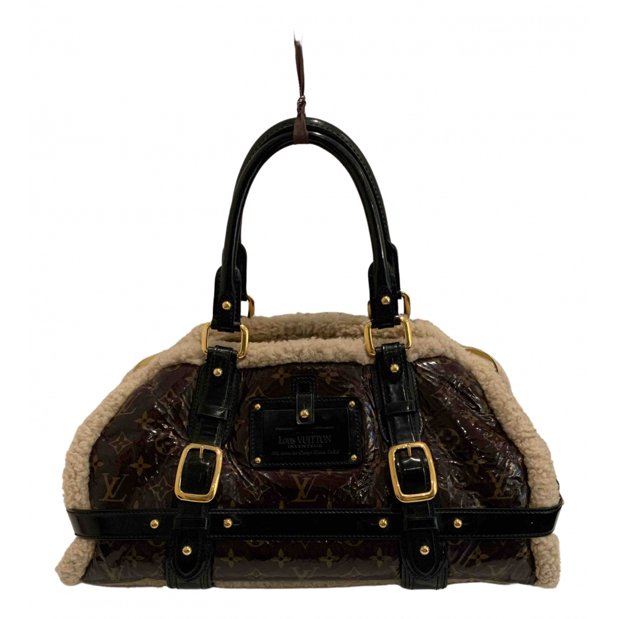 Louis Vuitton Storm Brown Shearling handbag for Women N
