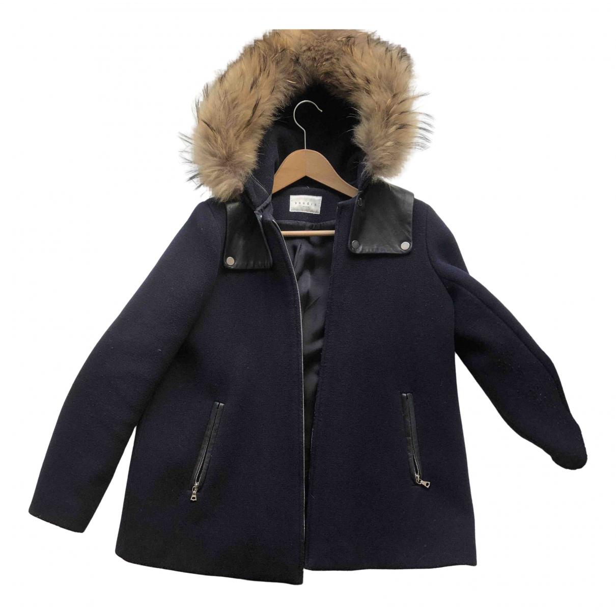 Sandro \N Wool coat for Women 38 FR