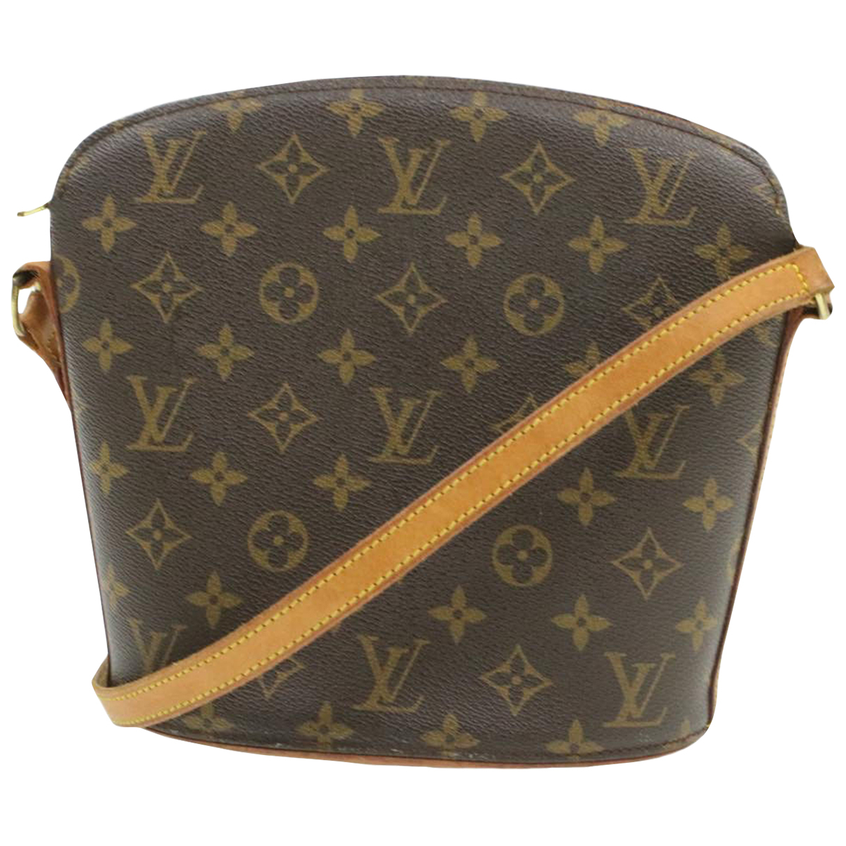 Bolso Drouot de Lona Louis Vuitton