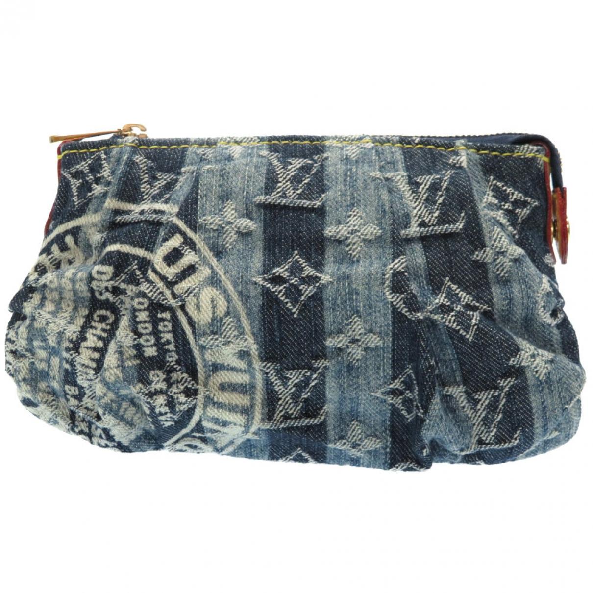 Bolsos clutch en Denim - Vaquero Azul Louis Vuitton