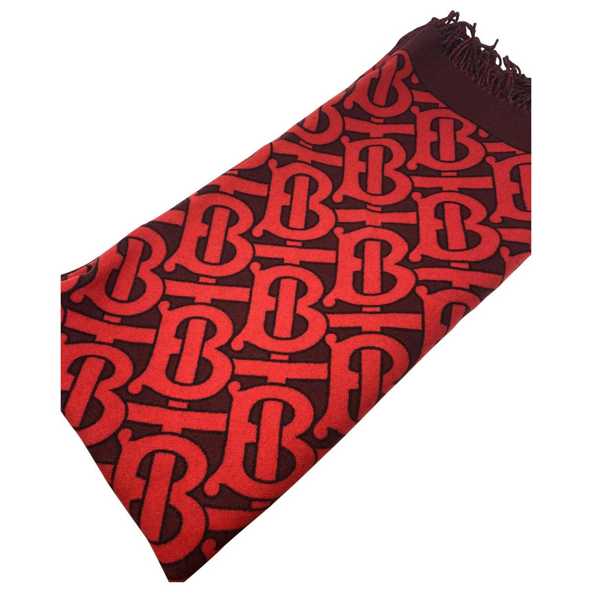 Burberry - Linge de maison   pour lifestyle en cachemire - rouge