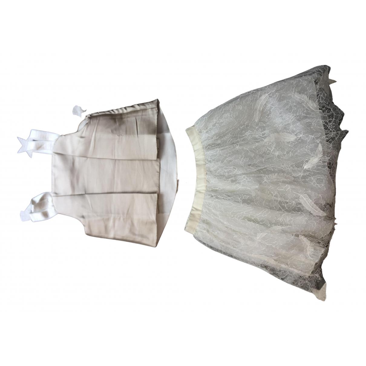 Jacadi \N Kleid in  Beige Polyester