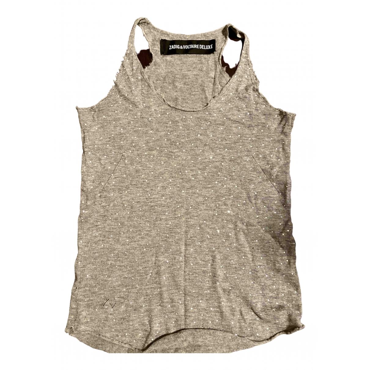 Zadig & Voltaire \N Grey Cashmere  top for Women S International
