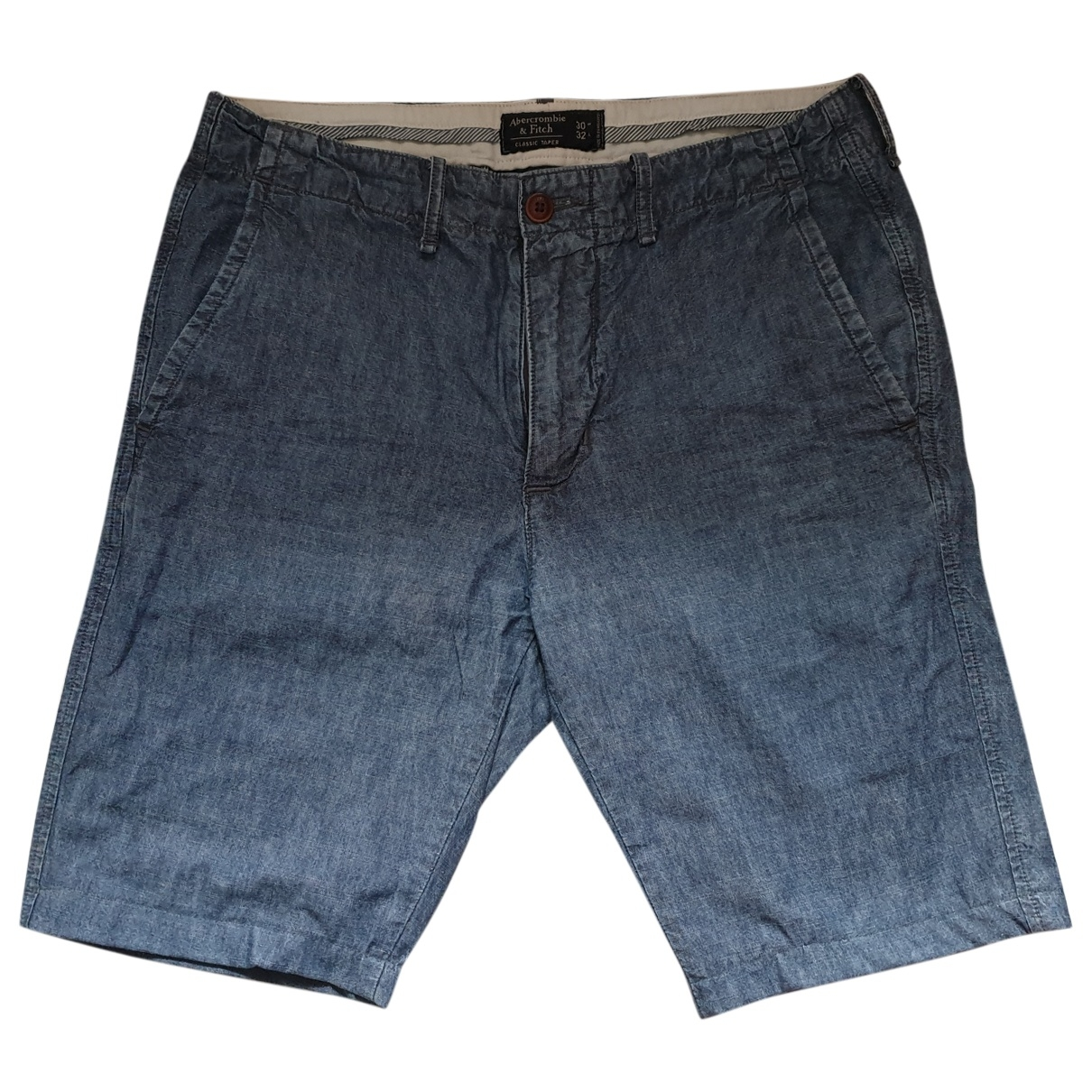 Abercrombie & Fitch \N Blue Cotton Shorts for Women L International