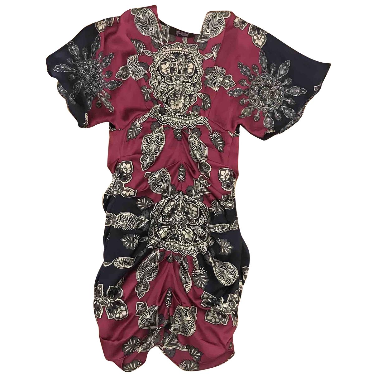 Mini vestido de Seda Hale Bob