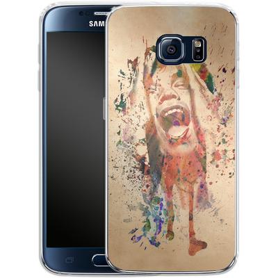 Samsung Galaxy S6 Silikon Handyhuelle - Scream von Mark Ashkenazi