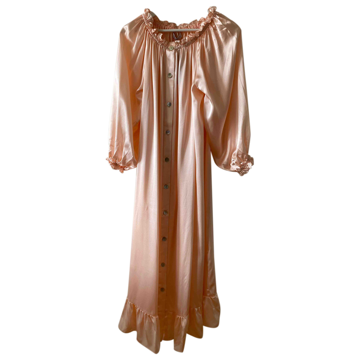 Vestido midi de Seda Sleeper