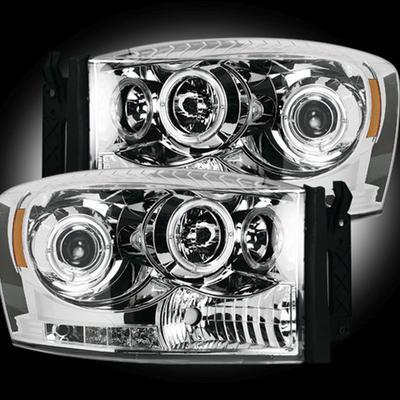 RECON Projector Headlights - 264199CLCC