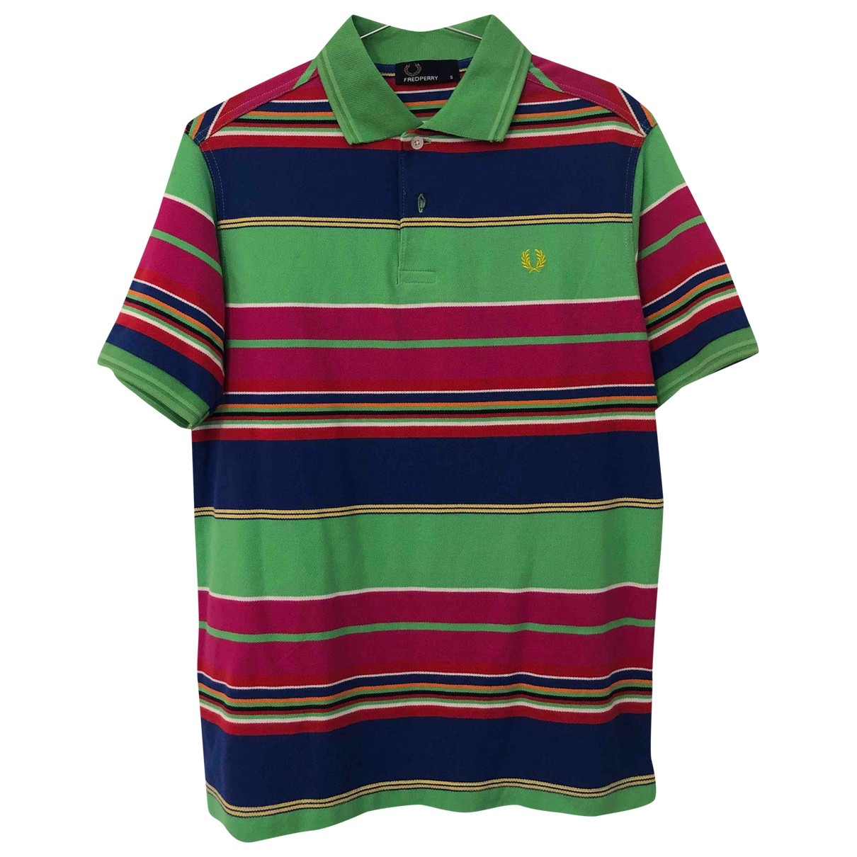 Fred Perry \N T-Shirts in  Bunt Baumwolle