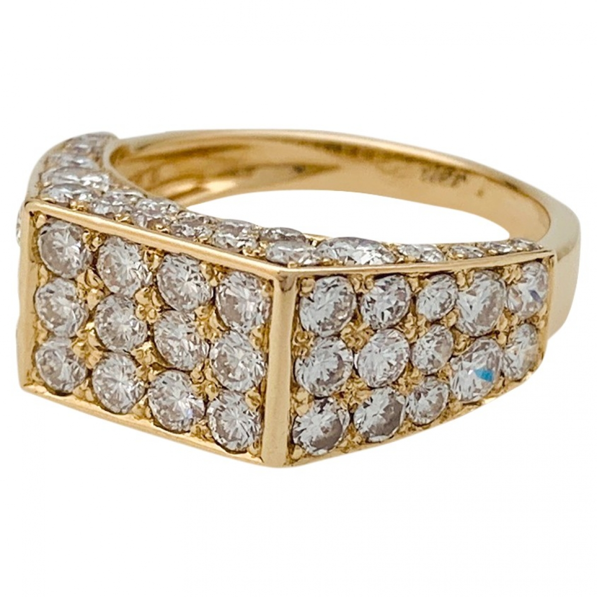 Cartier \N Gold Yellow gold ring for Women \N