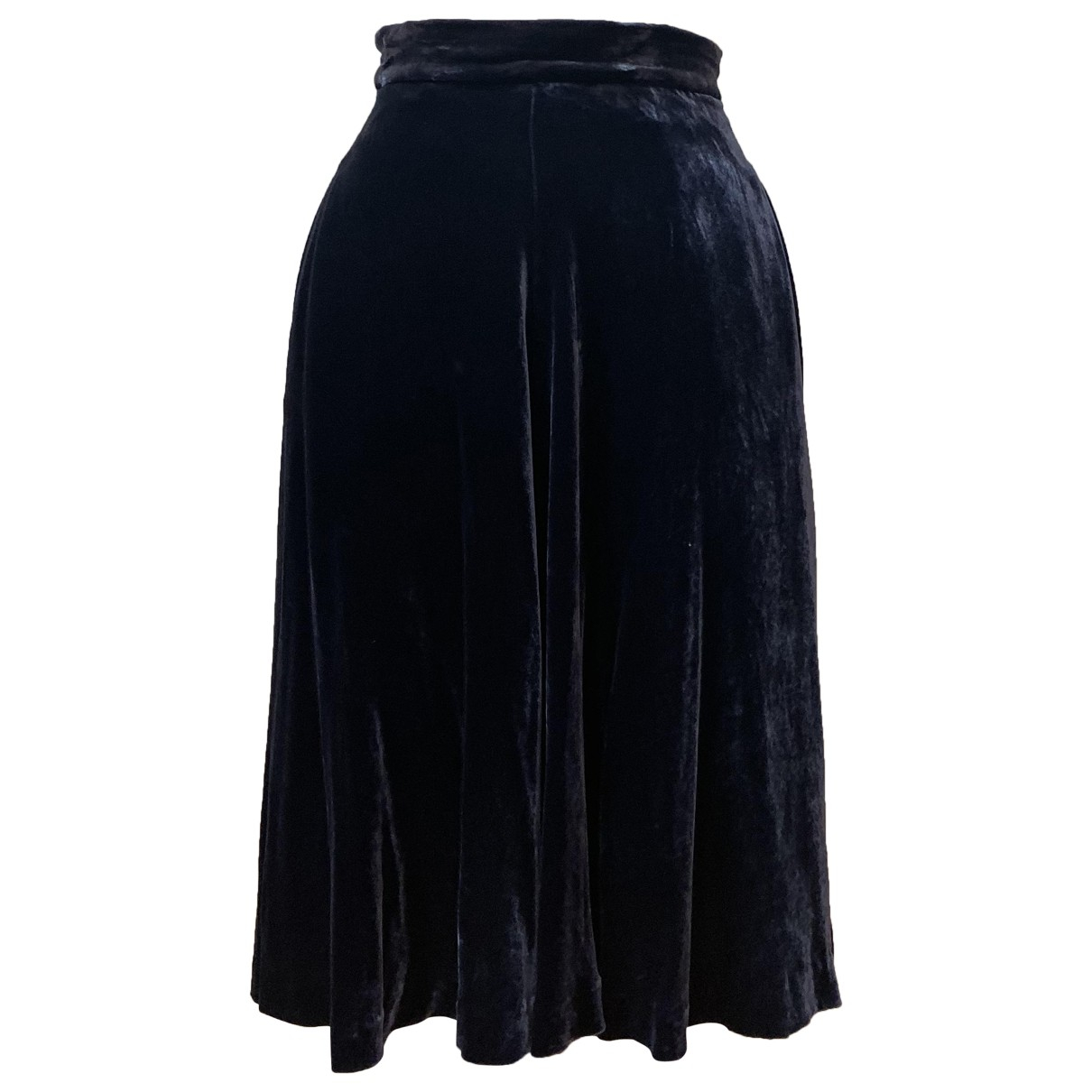 Ralph Lauren Collection \N Blue Velvet skirt for Women 2 US