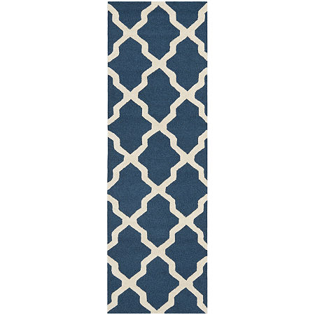 Safavieh Gale Rectangular Wool Runner Rug, One Size , Blue