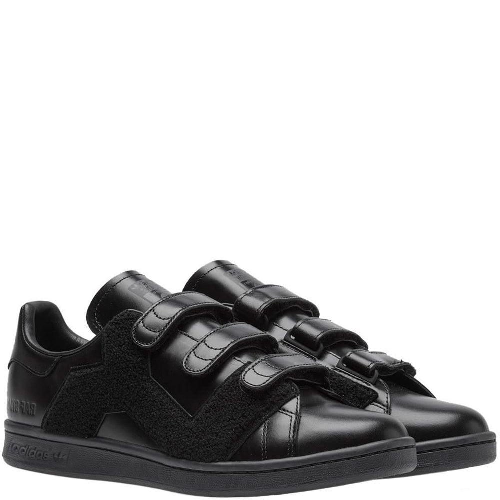 Adidas X RAF Simons Comfort Badge Trainers Black Colour: BLACK, Size: 6