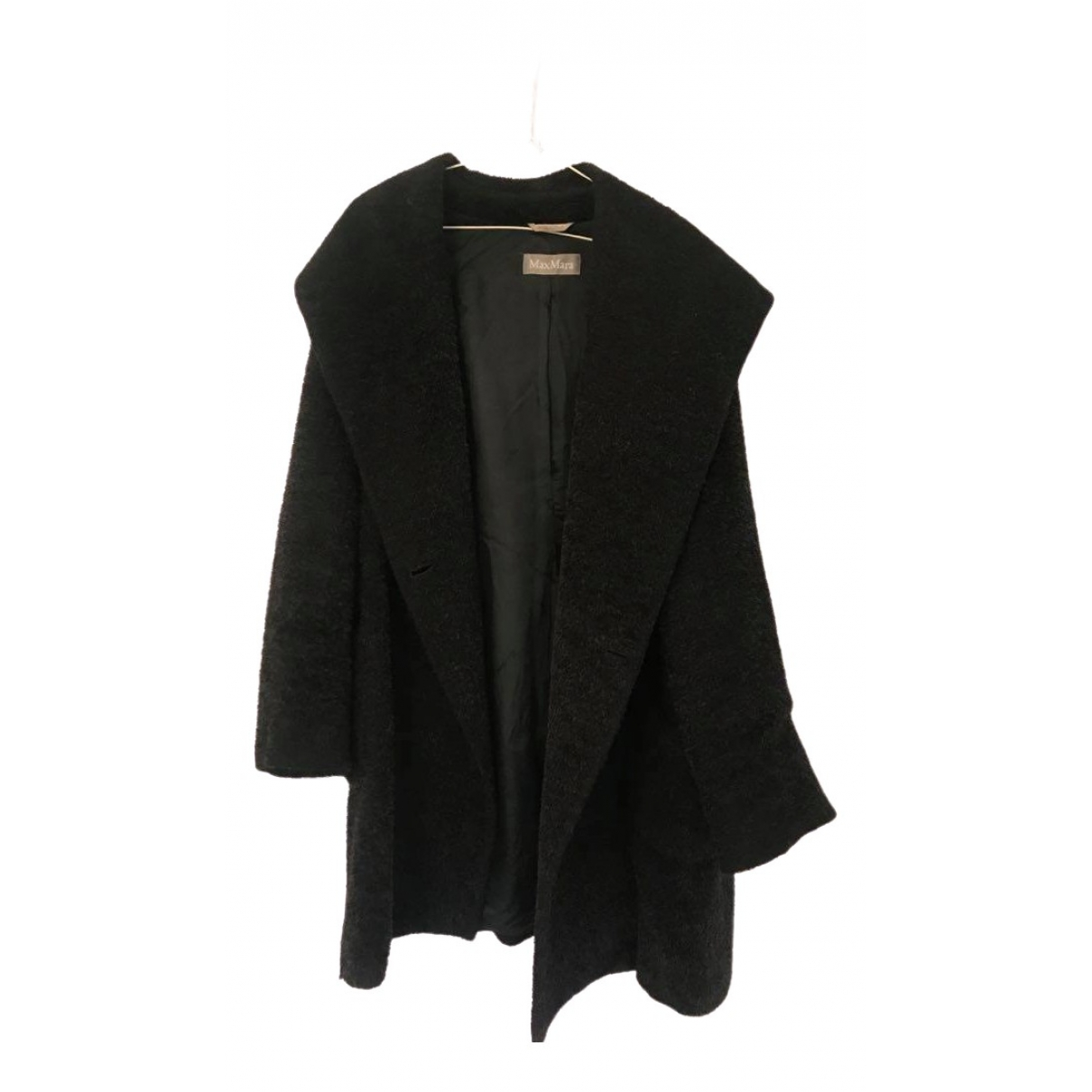 Max Mara \N Black Wool coat for Women 40 FR