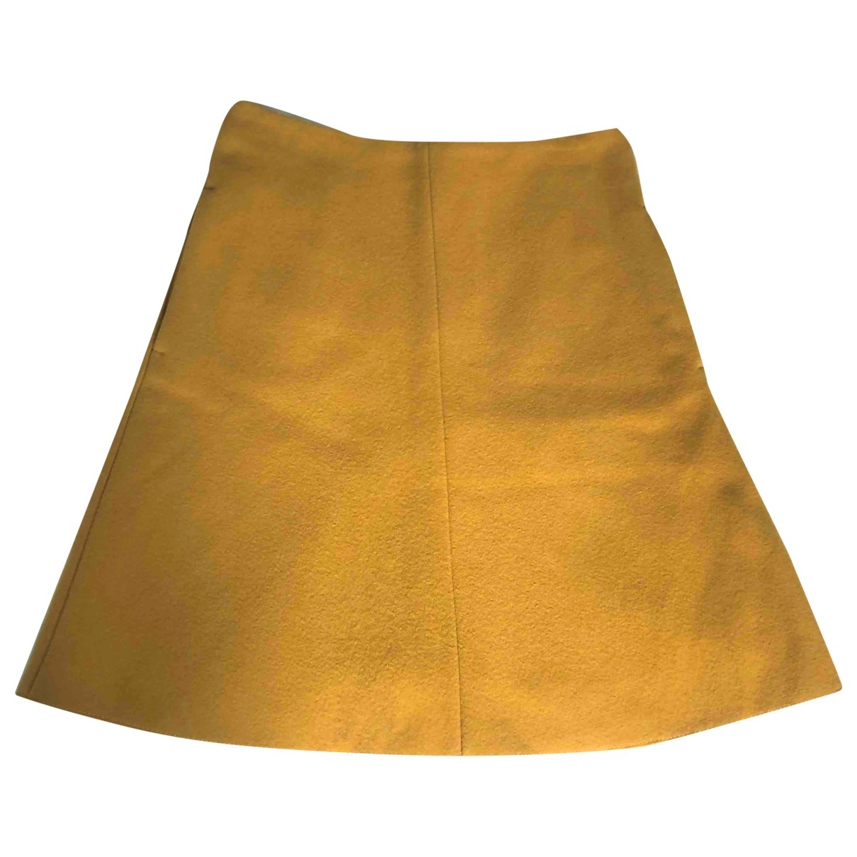 Carven \N Rocke in  Gelb Wolle