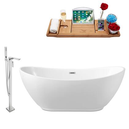 NH580-140 Faucet and Tub Set with 62