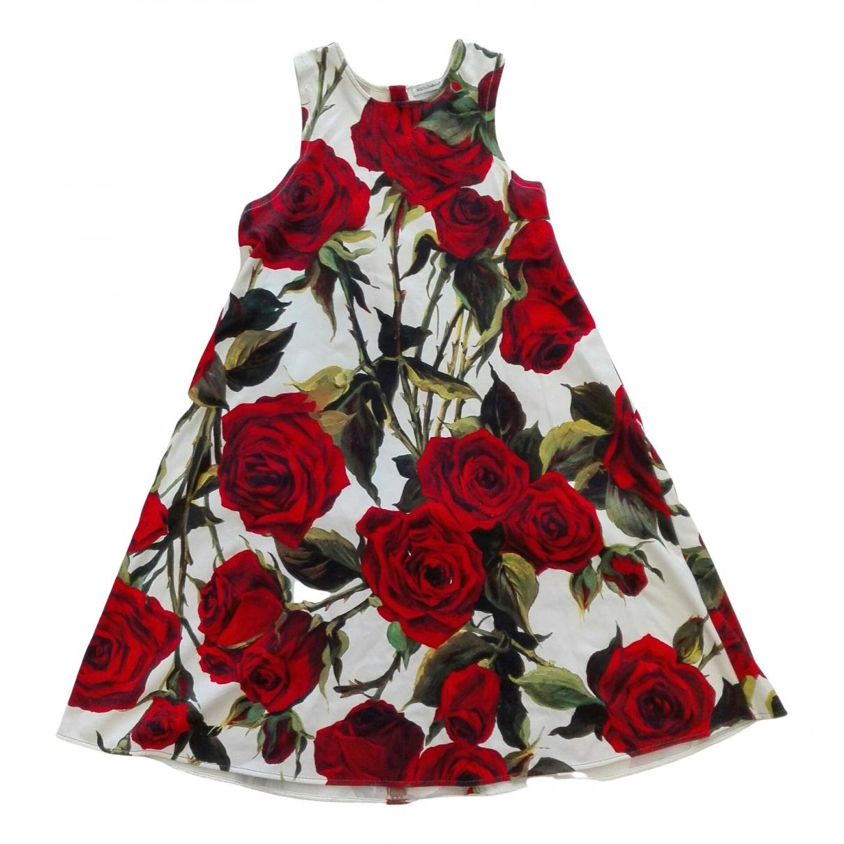 Dolce & Gabbana - Robe    pour enfant en coton - blanc