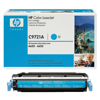 HP 641A C9721A Original Cyan Toner Cartridge